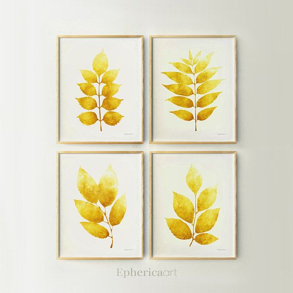 Print set Wall art Botanical Dining Room Gallery wall set, Living ...