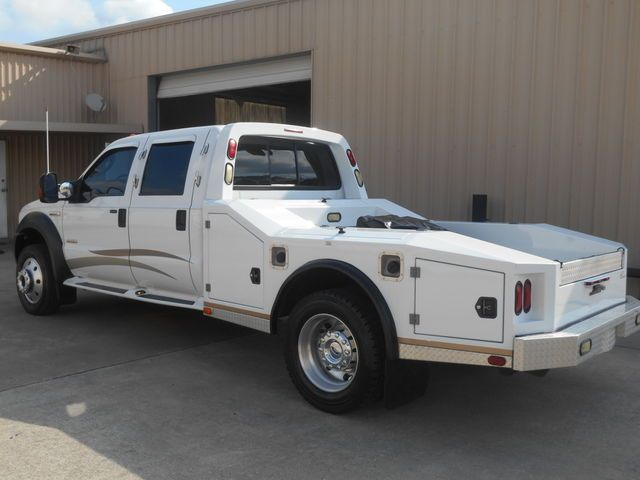 2006 Ford F550 Crew Cab 4x4 Western Hauler Chariot Conversion