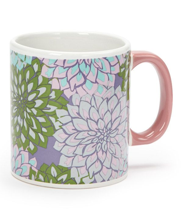 Take a look at this Floral 20-Oz. Mug on zulily today!
