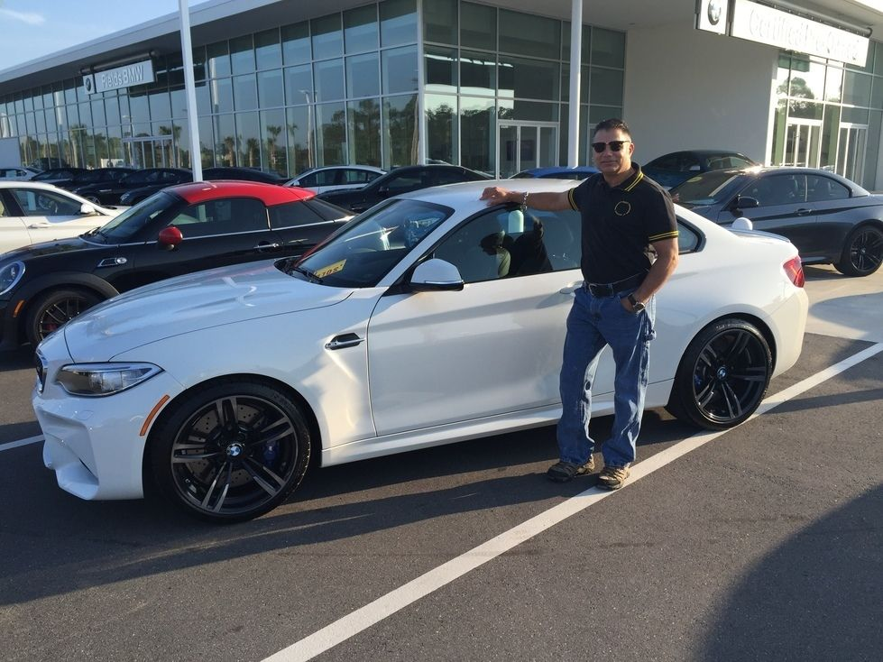 Congratulations to Rick C. on the recent purchase of his brand new 2016 #BMW #M2 from our Daytona Beach location. Enjoy your new Ultimate Driving Machine Rick and welcome to the Fields family! #FieldsBMW #FieldsAuto #luxury #cars #automotive #vehicles - #repost from @fieldsbmw #FieldsCollision #Fields CollisionCenter #Fields #Collision #Center #DaytonaBeach #Florida