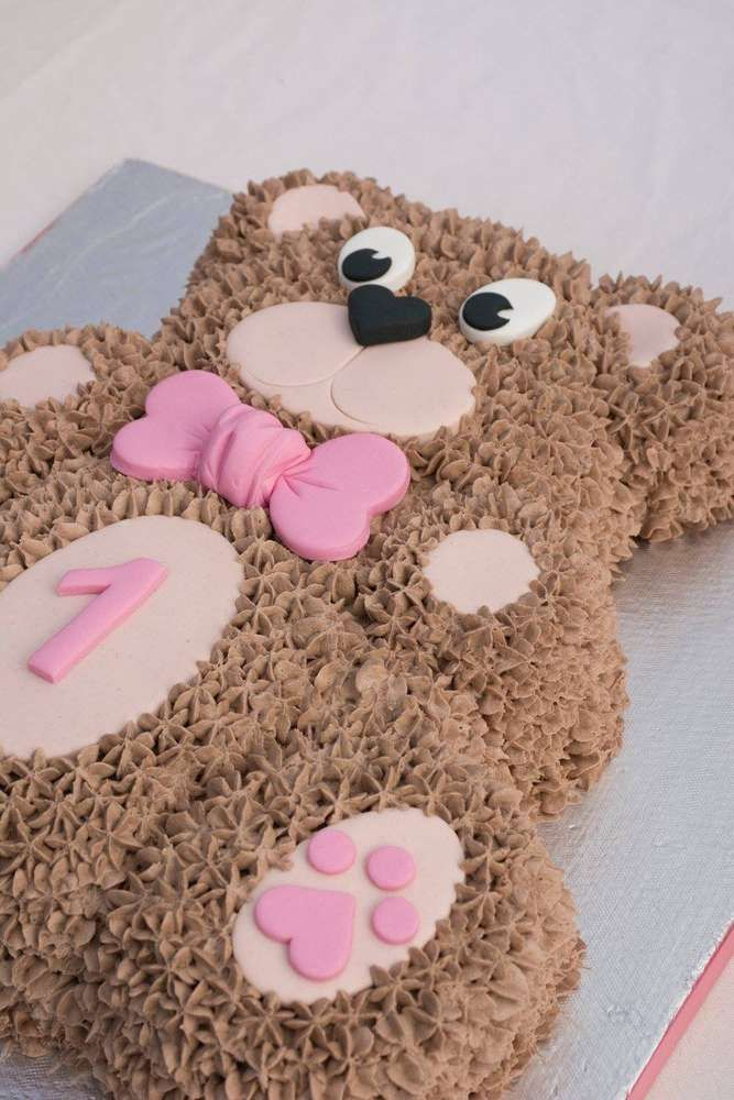 Teddy Bears picnic Birthday Party Ideas | Photo 1 of 51 | Catch My Party #babyteddybear