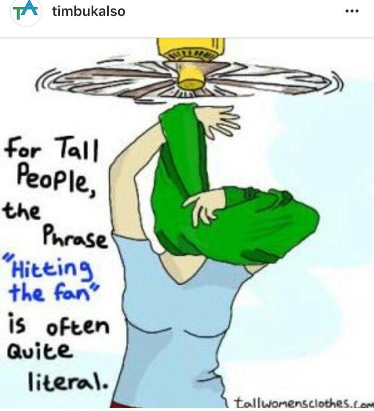 Timbuk-Also Tall People Pun | Tall people jokes, Tall