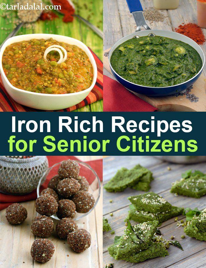 Healthy Senior Citizen Iron Rich Recipes, Food in 2020