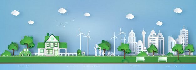 Photo of Concept of eco friendly and save the earth | Premium Vector #Freepik #vector #tr…