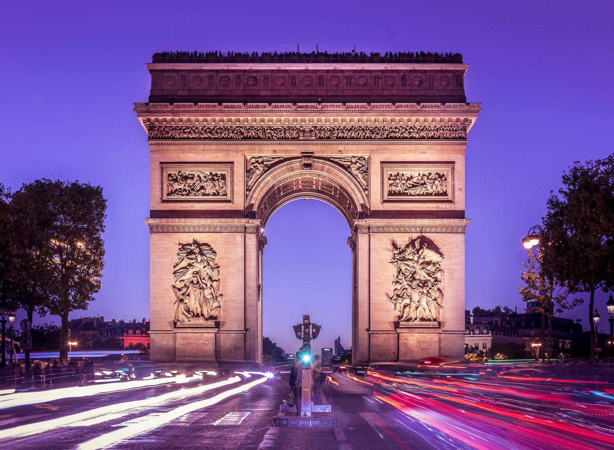 paris arc de triomphe - HD2000×1466