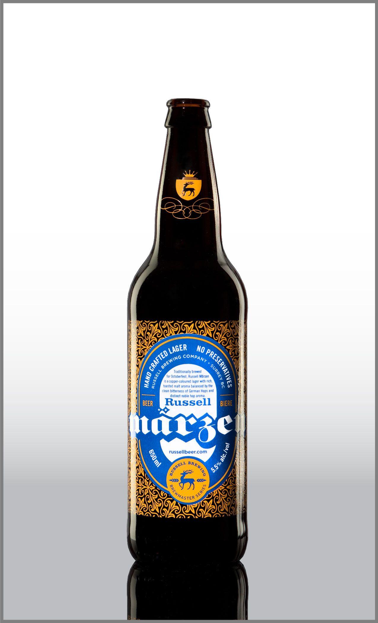 Beer Bottle Decoration Russen Marzenbeer Bottle Decorationthinkuniversal Neck
