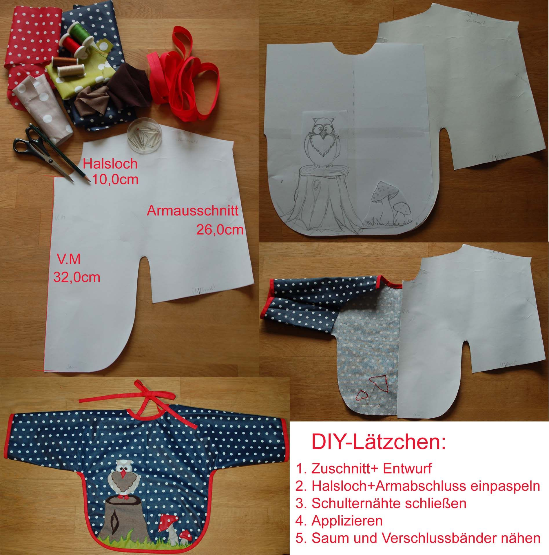Lätzchen DIY