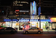 London drugs robson street Vancouver !