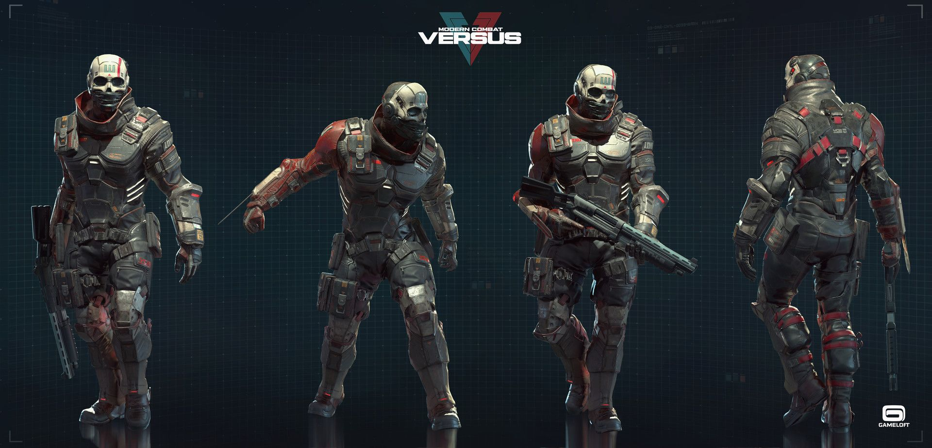 Modern Combat Versus Character Team Art Dump Character Superhero Design Futuristic Armour