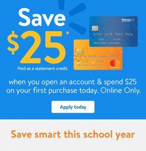 Walmart Credit Card Walmart Card Login Walmart card