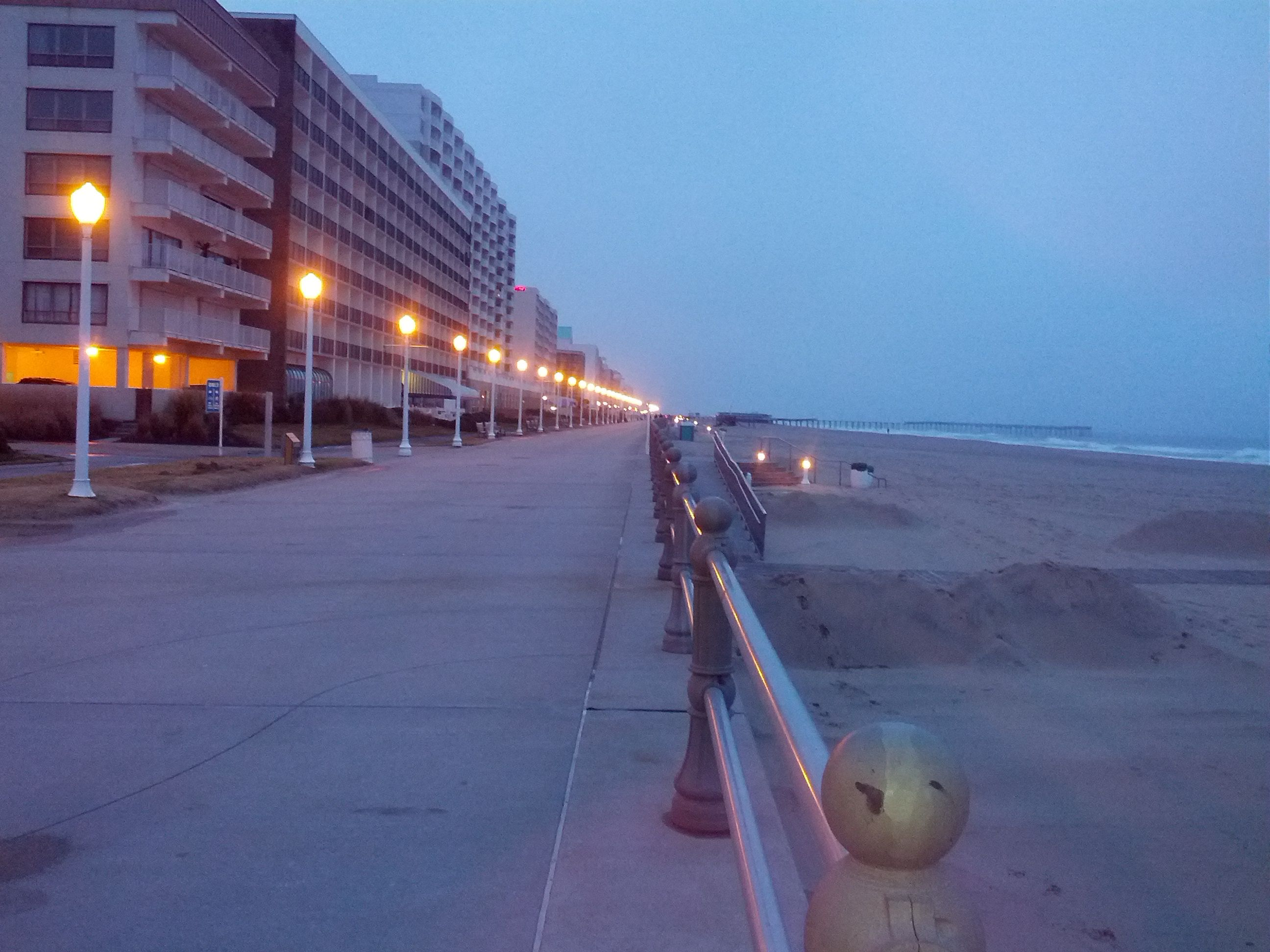 Virginia Beach We Were There In October The Weather Was Still Nice And Boardwalk Deserted Perfect