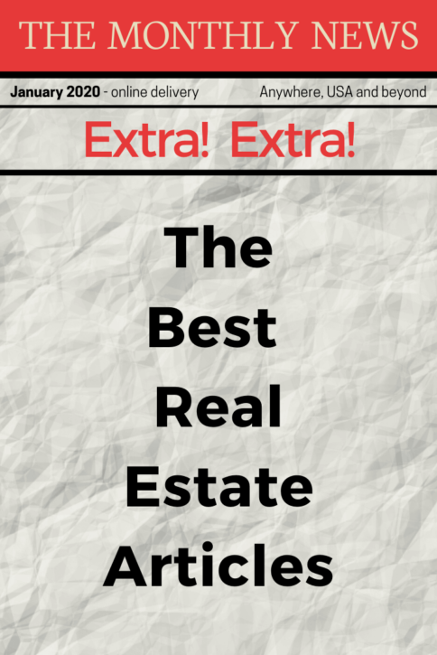 Best Real Estate Articles January 2020 #realestatetips