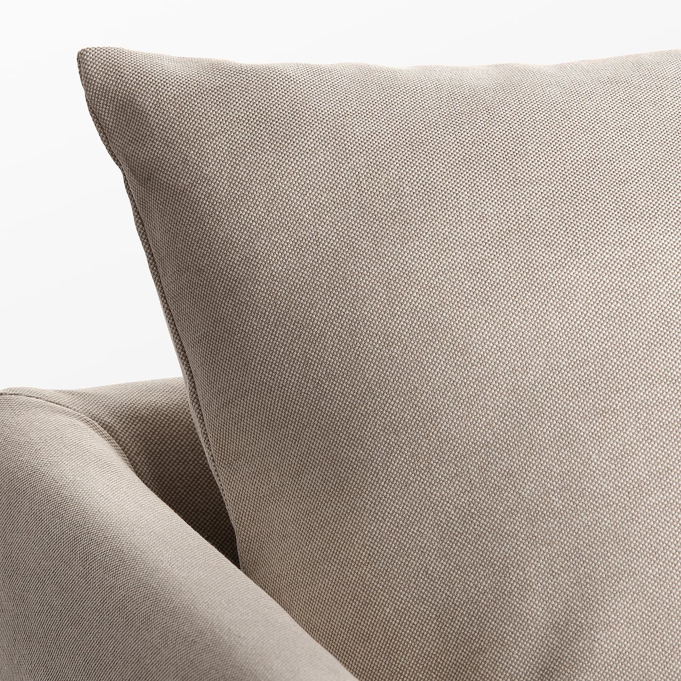 Sandbacken 3er Sofa Lofallet Beige Ikea Osterreich In 2020 Sleeper Sectional Corner Sofa Bed Beige Sofa