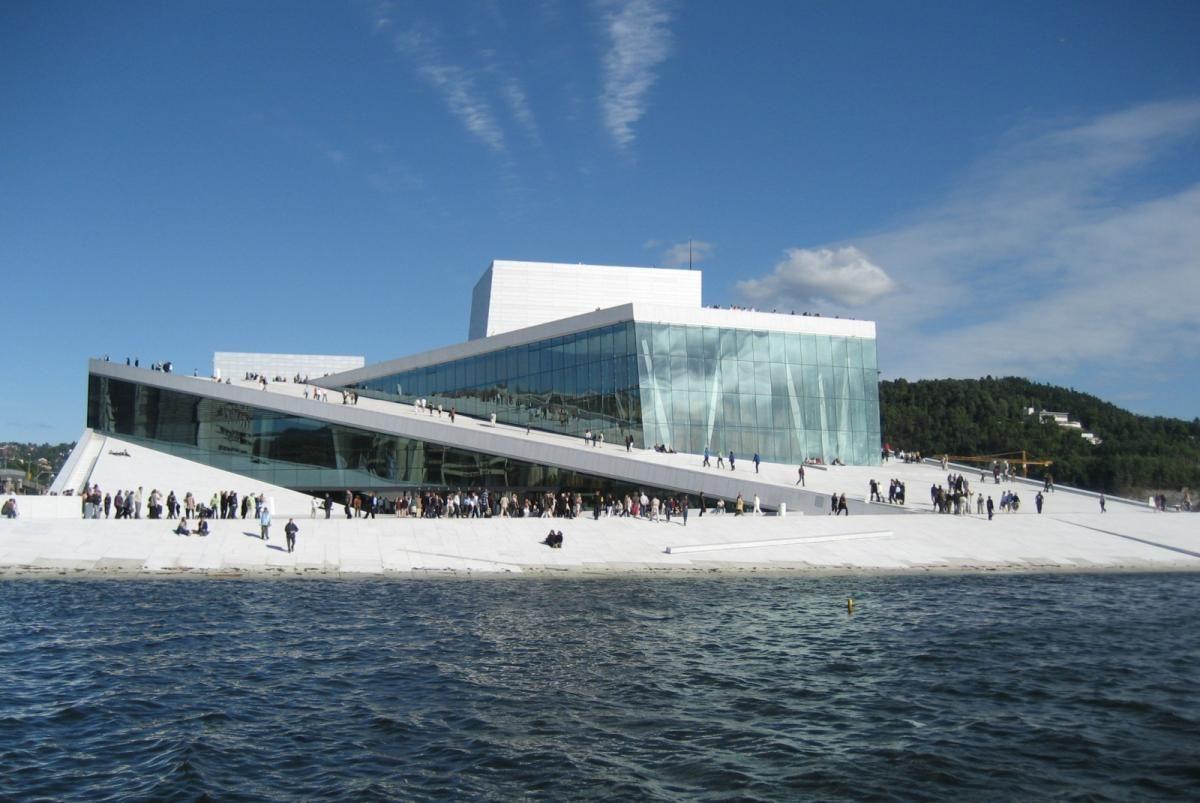 The Norwegian National Opera Ballet Oslo Norwegian Architecture Norway