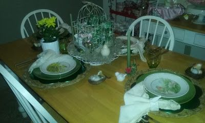Cake Plates and Other Treasures : Spring is Showing