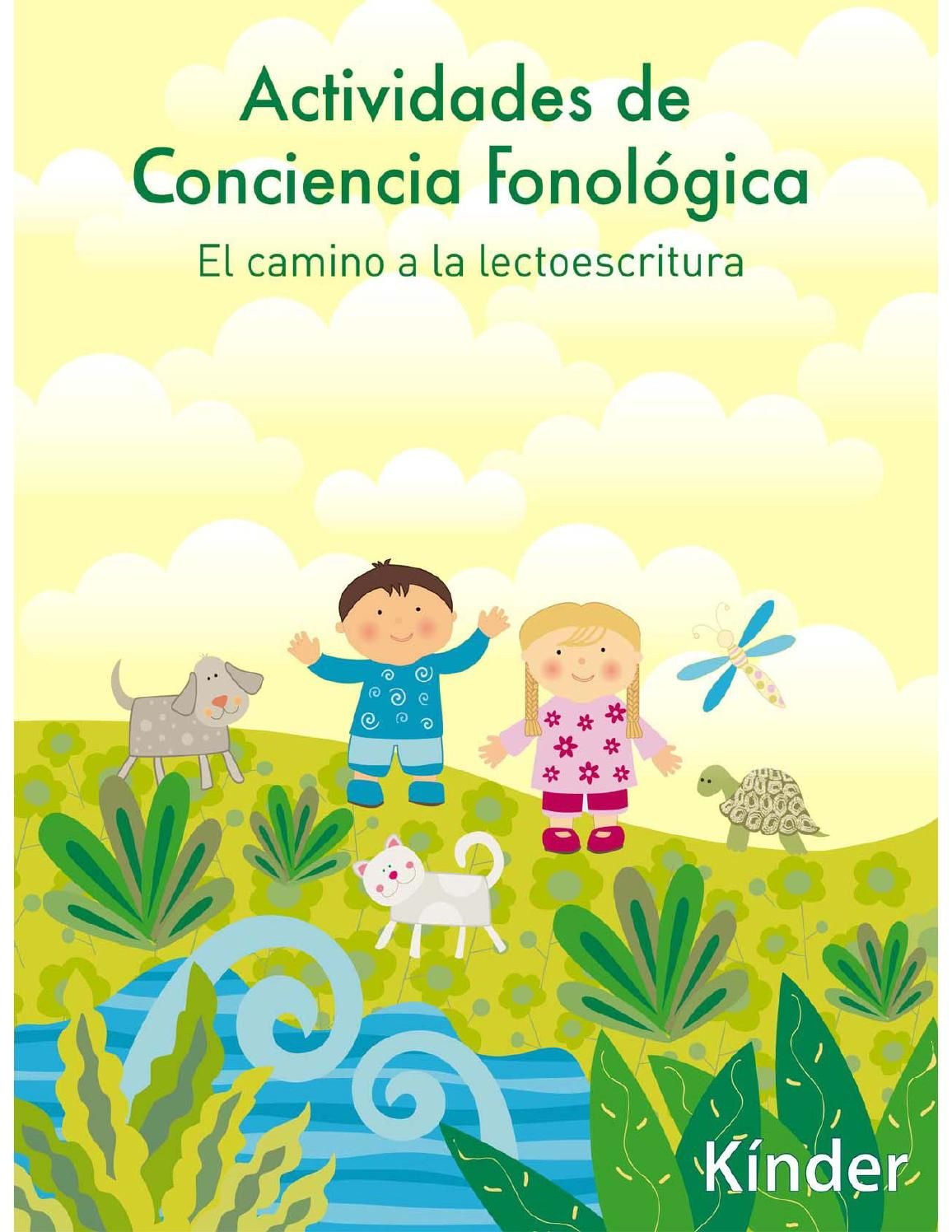 Libros Logopedia Libro Cs Kinder Compartir Logopedia Conciencia