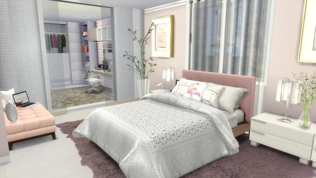 Sims 4 Fashion Designer Modern House (Download CC