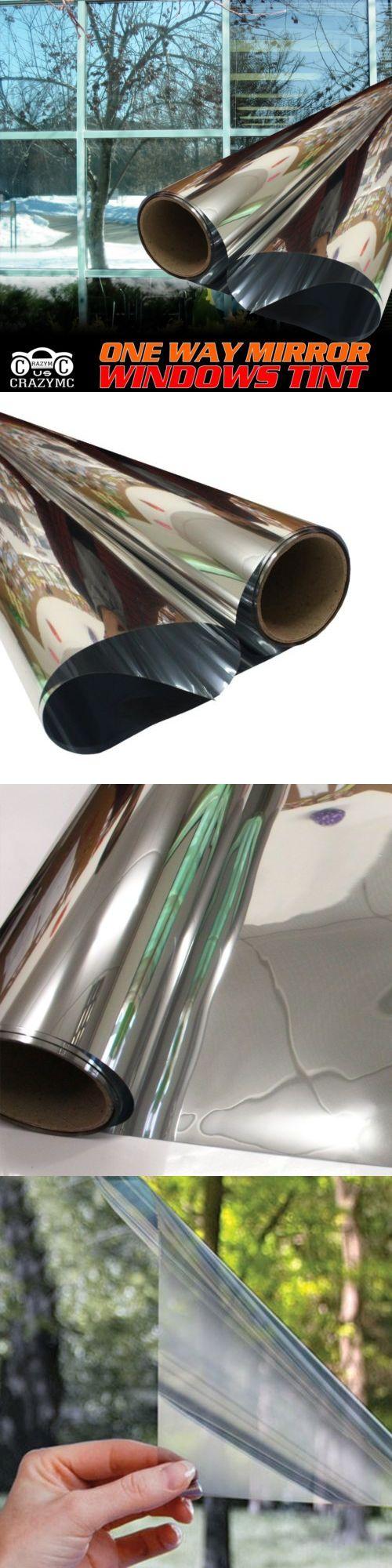 One Way Mirror Privacy Reflection Window Tint Film Solar Reflective Kaca Oneway Premium 175757 House Sunscreen Glass Sticker Buy It Now Only 3476 On Ebay
