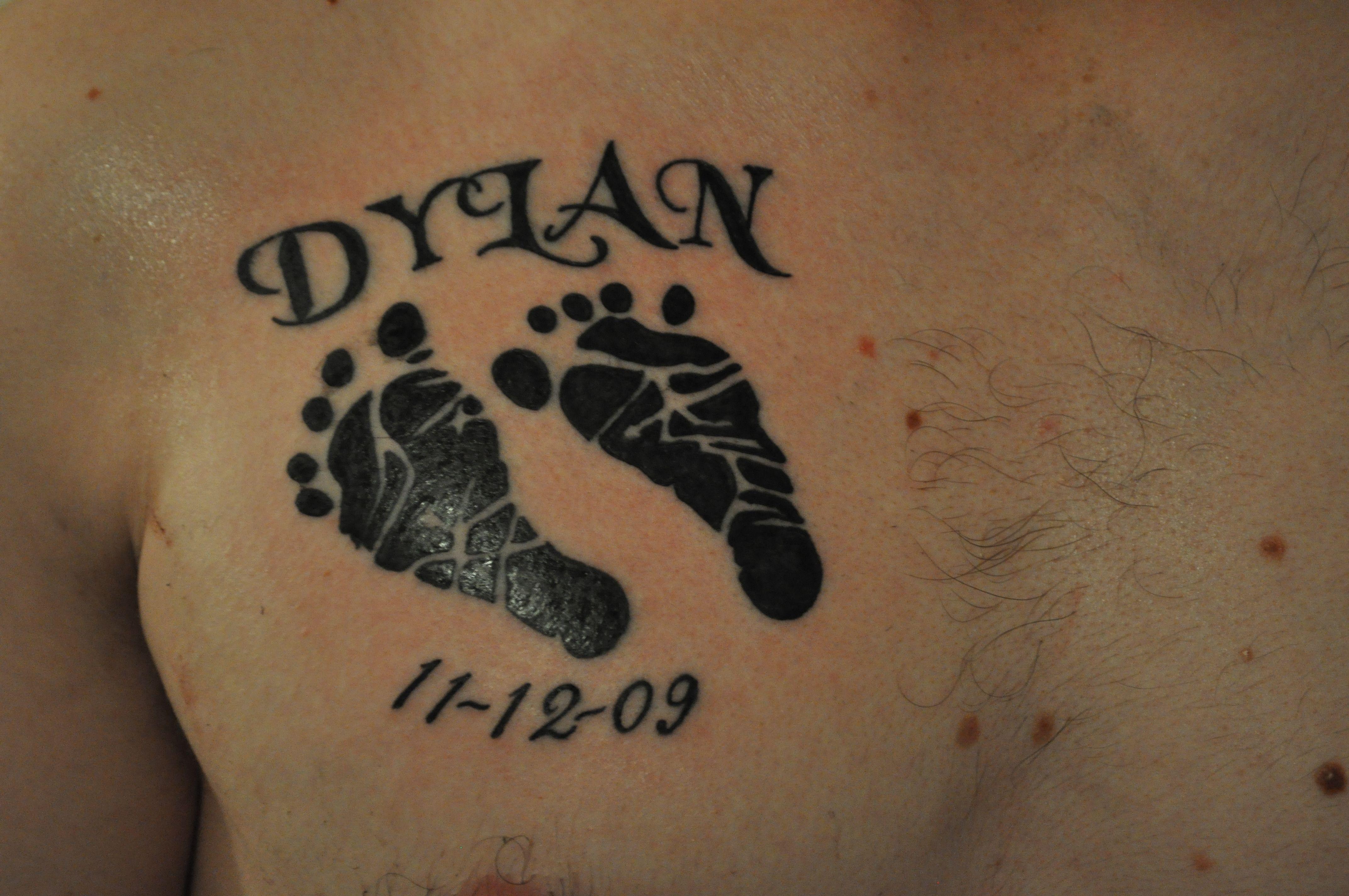 Pin On Fairy Footprint Tattoos
