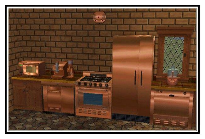 copper appliances - Google Search   Copper Kitchen Cooktops, Ovens ...