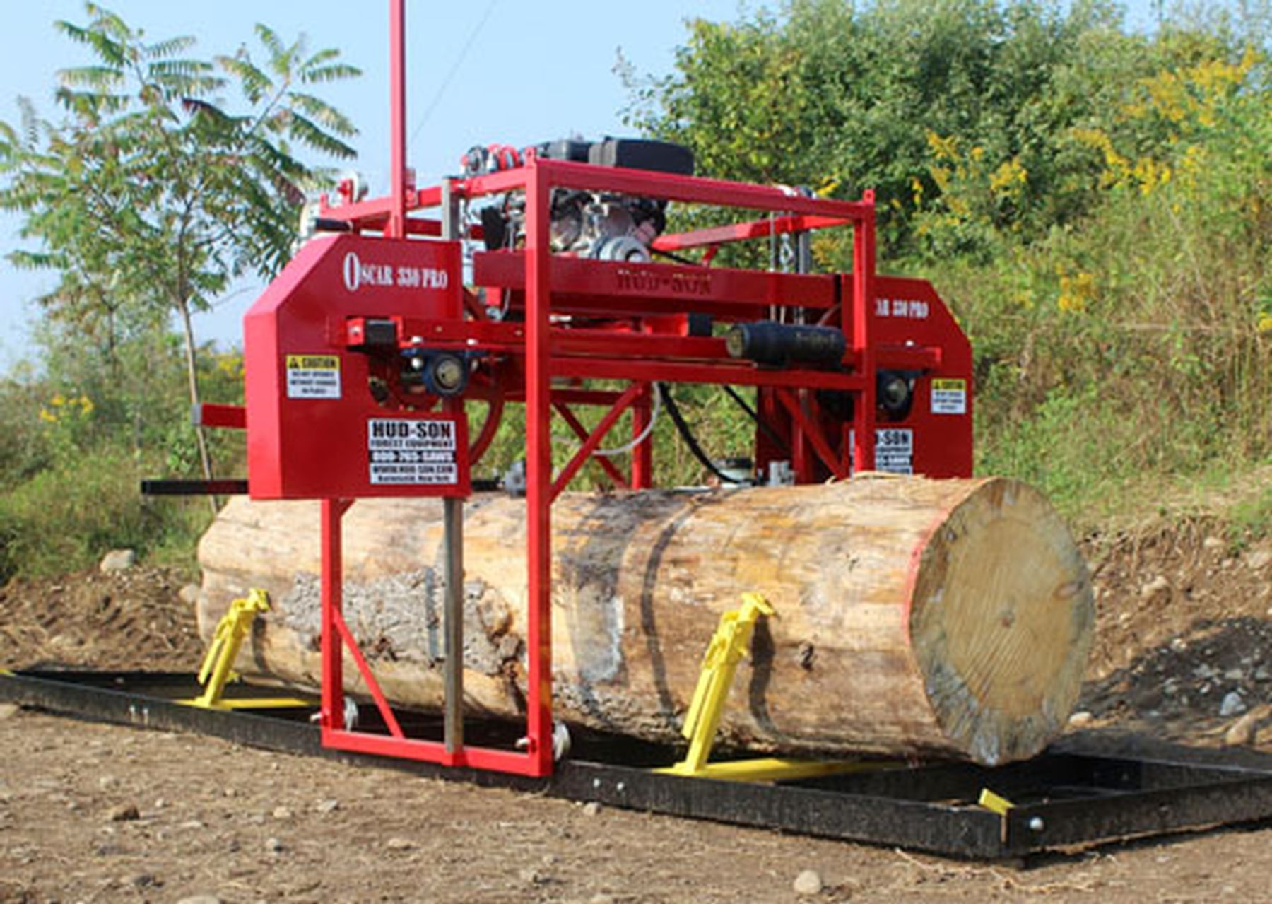 the oscar 330 pro portable sawmill is stealing the market with its