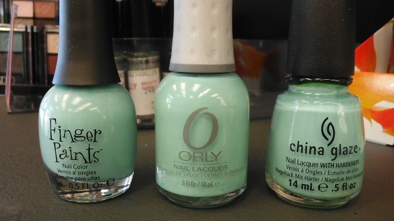 Finger Paints: Tiffany Imposter Orly: Gumdrop China Glaze: For ...