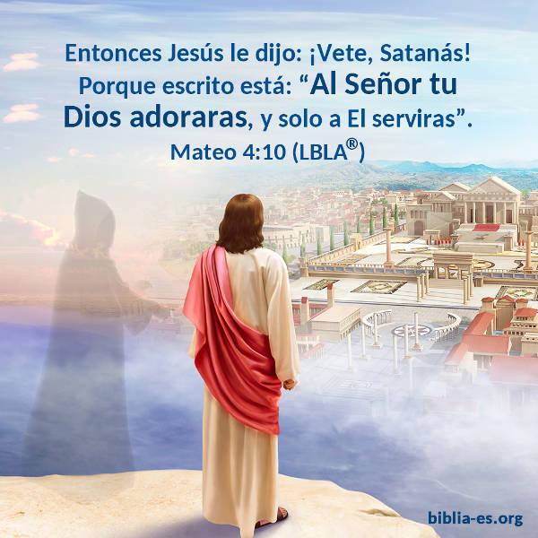 Versículos De La Biblia Mateo 4 10 Jesús Evangelio Lapalabradeseñor Espíritusanto Elaguadevida Lavolun Versículos De La Biblia Evangelio De Hoy Evangelio