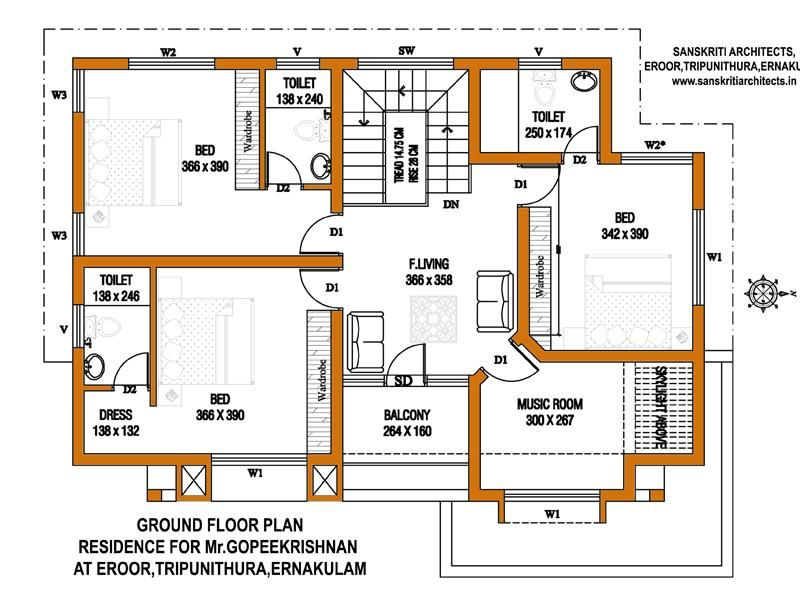 Colored House Floor Plans Google Search House Floor Plans Floor Plan Design Building Plans House