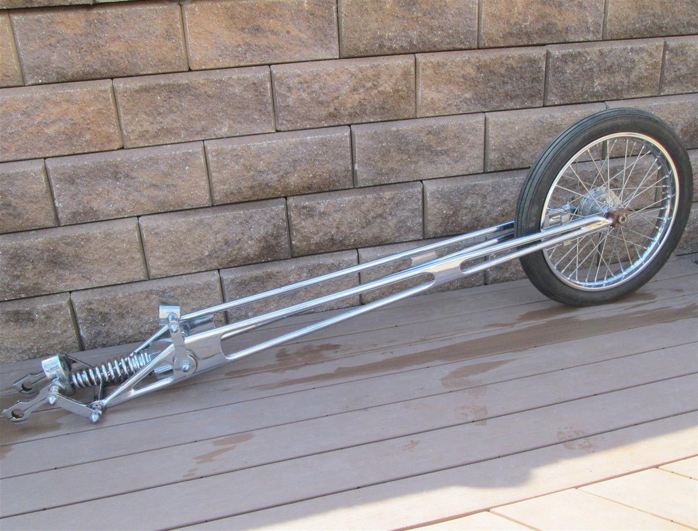 Details about Vintage Chopper Harley Extended Springer Fork Front