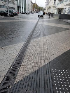 Shared Space Pavement Design Paving Pattern