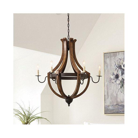 Tuscany 6 Light Chandelier Ballard Designs