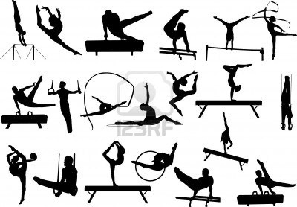 vault gymnastics silhouette. Perfect Silhouette Vault Gymnastics Silhouette Vector Illustration Of Gymnastics Silhouettes   Search Clipart Illustration Drawings And Vault Silhouette F