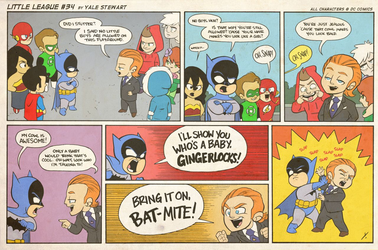 """How To Stop Batman"" - Funny Comic Strip — GeekTyrant 