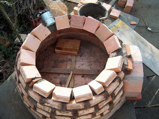Como hacer un horno de barro paso a paso construcci n y for Construccion de un vivero paso a paso