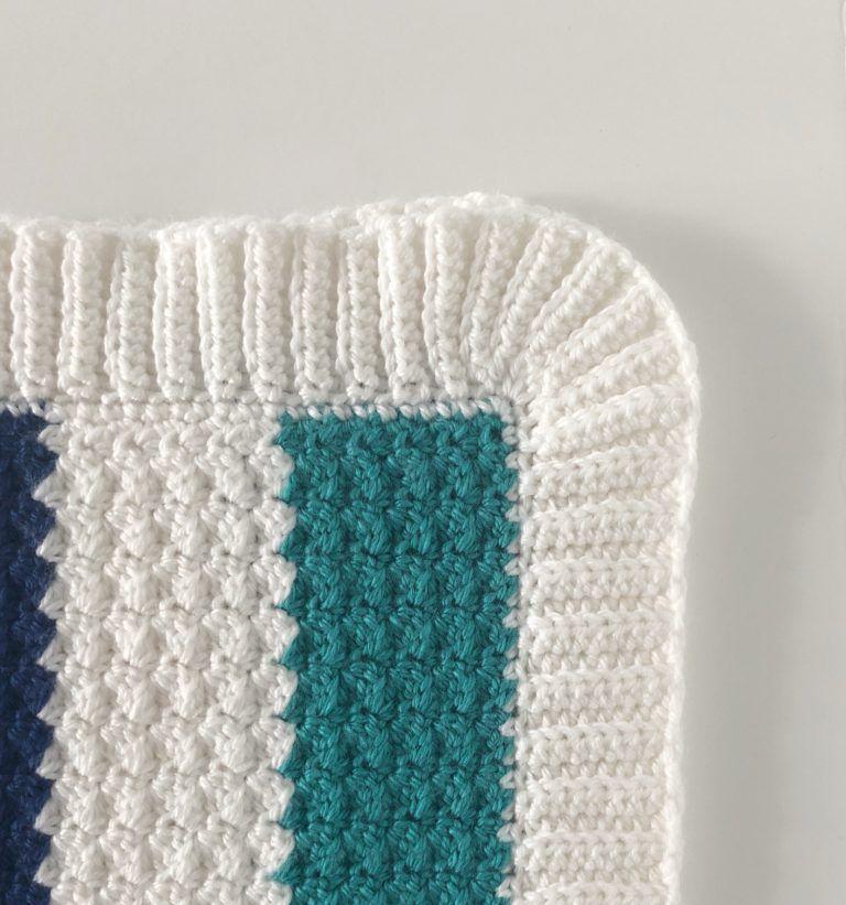 Crochet Nautical Baby Blanket Daisy Farm Crafts