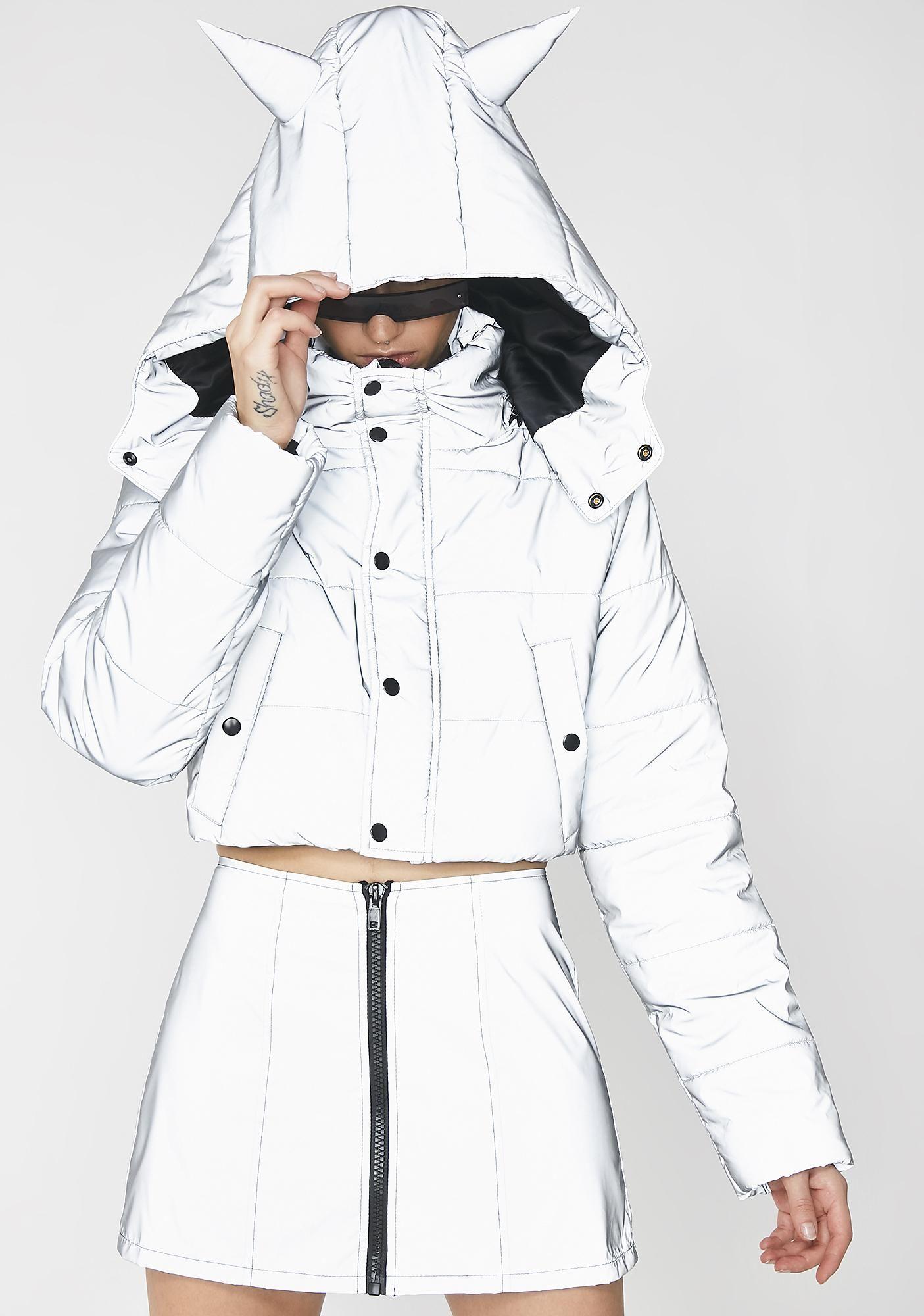 4b6dddafe5f40 Club Exx Savage Signalz Reflective Jacket