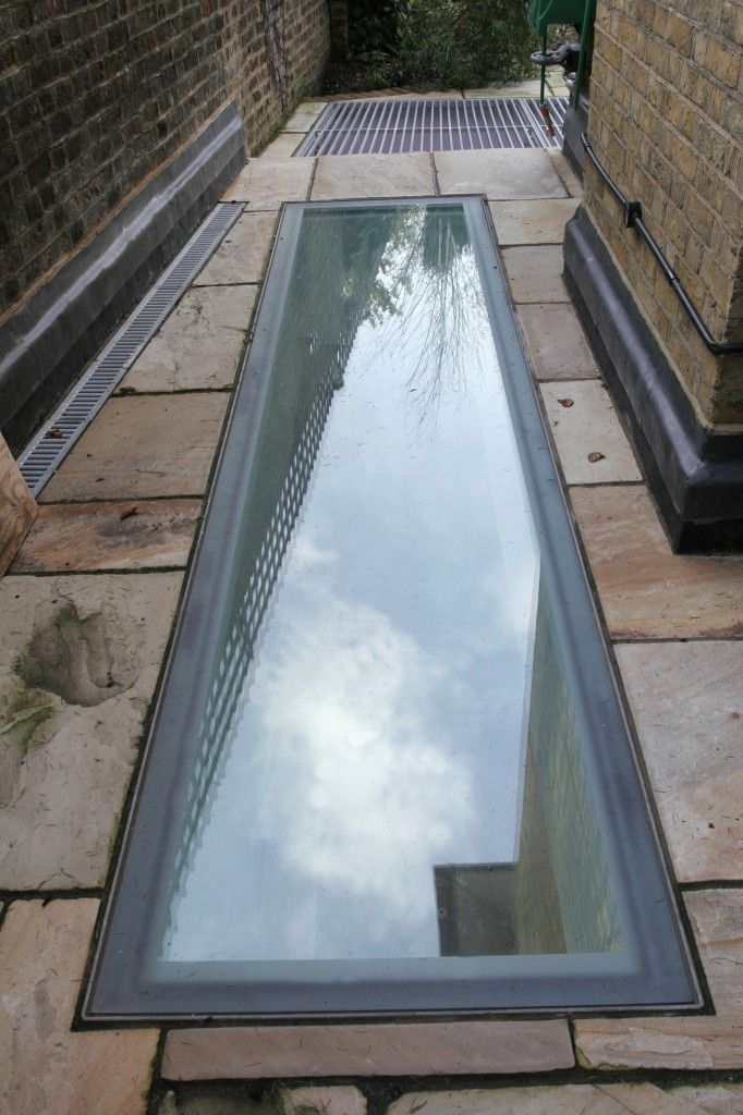 Skylight In Patio