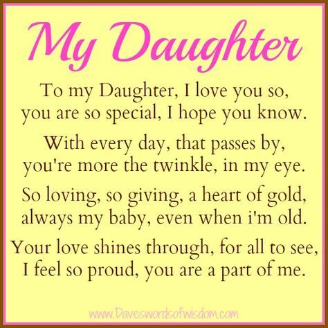 Special Daughter Quotes You Are Special Daughter on easter | To My Daughter, I love you so  Special Daughter Quotes