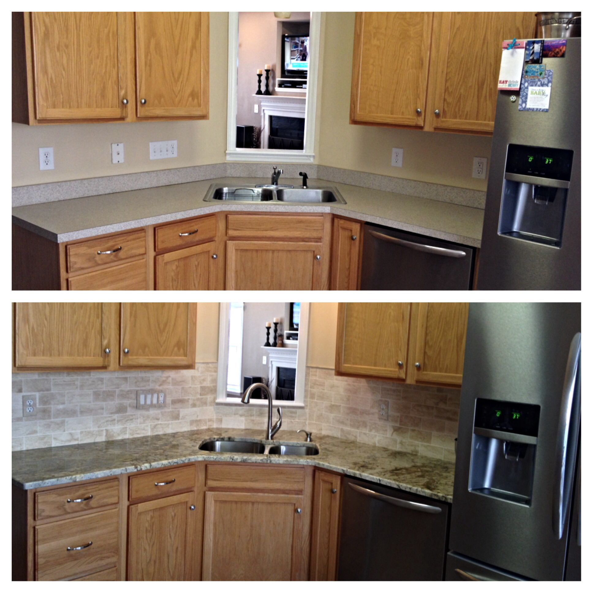 Kitchen Update! Before And After!