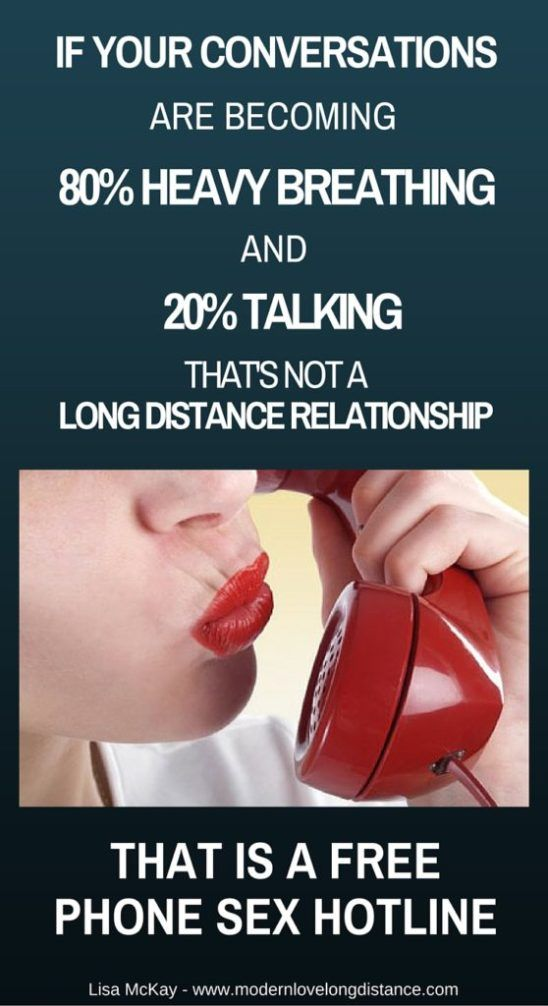 long distance phone sex