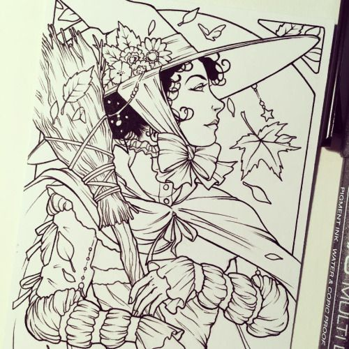 The Art & Illustration Of Samantha Johnson | Coloring Pages For ...