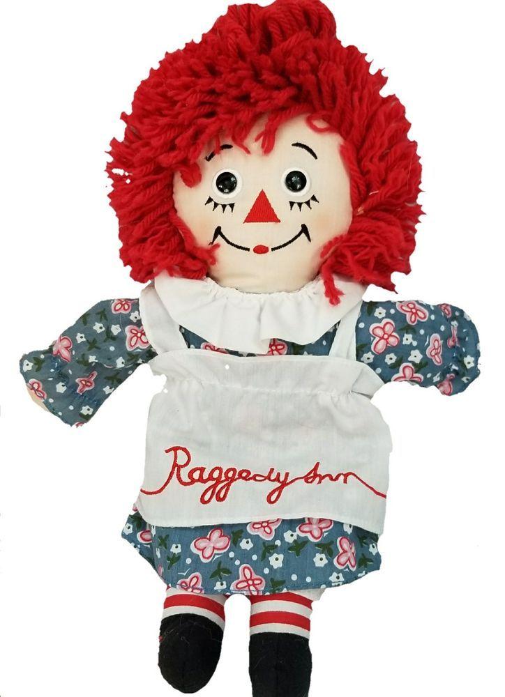 Raggedy ann doll 16 inches new