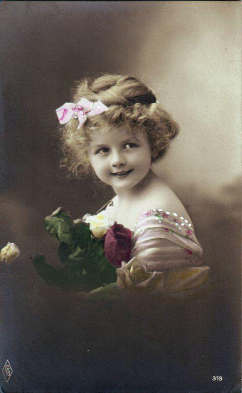 Надписью мотивации, детские фото на открытках