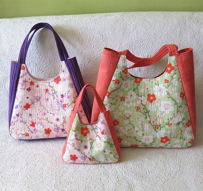 Chantal tote bag pattern | Tote bag patterns, Tote bag and Third