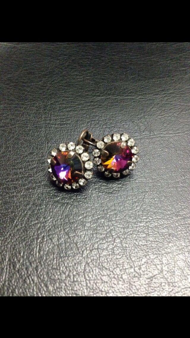 Sabika Impressive Volcano Drop Earrings   Sabika ...