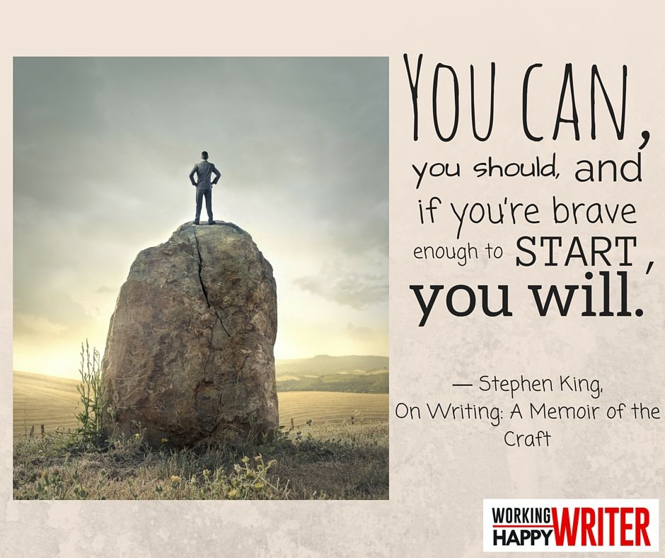 You can, you should and if you're brave enough to start, you will.