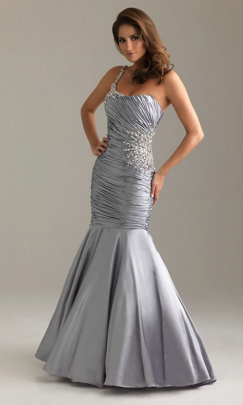 1000  images about Silver Prom Dresses on Pinterest - Rhinestones ...