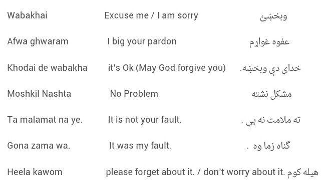Pashto language   Pashto   English language learning