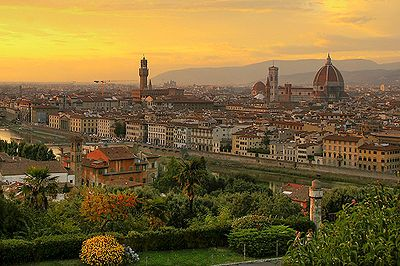 Florence, the center of Renaissance.- Wikipedia, the free encyclopedia