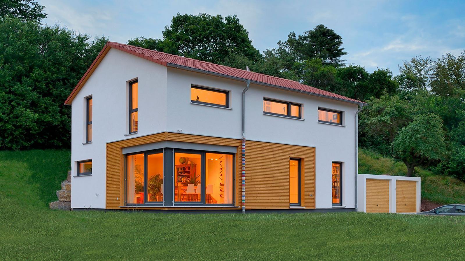 Haus Krug (mit Bildern) Haus, Weiss fertighaus, Style at